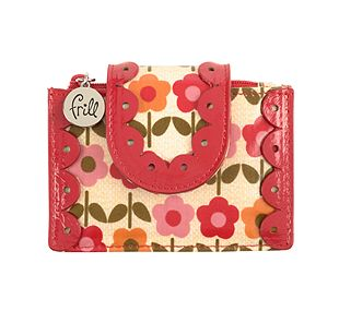 Vera Bradley Pretty and Petite Card Holder in Folkloric